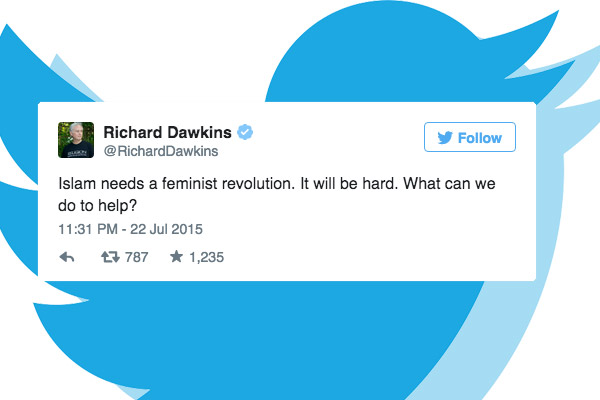 Richard DawkinsI slam Feminist