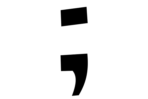 28610a456 New Semicolon Tattoo Trend Links Punctuation and God - World ...