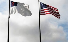 "Pastors Fly Christian Flags Above U.S. Flag to Start ""God Before Government"" Campaign"
