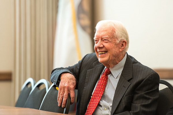 By Commonwealth Club from San Francisco, San Jose, United States (2013.02.24 RITGER_Jimmy Carter_007) [CC BY 2.0], via Wikimedia Commons