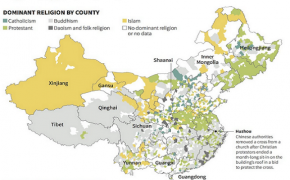 The Christian and Muslim Community In China is Multiplying