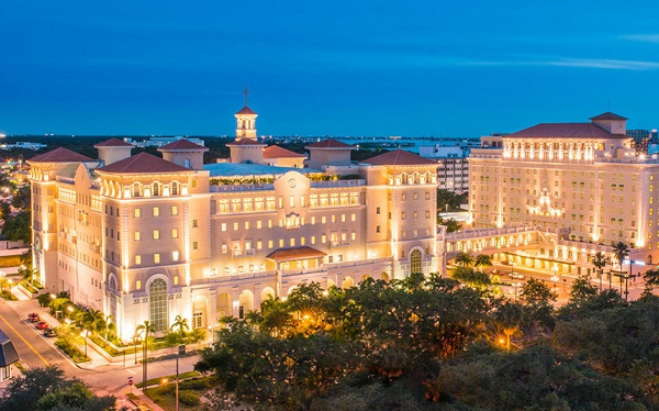 Scientologists Celebrate 7th Anniversary of Their Cathedral in Clearwater, Florida by Derek Welch