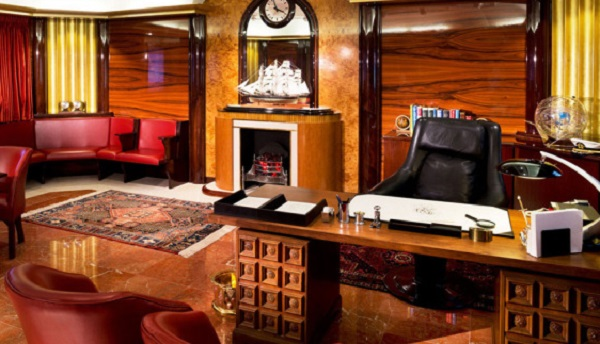 'Office of the Commodore' is an office honoring L. Ron Hubbard
