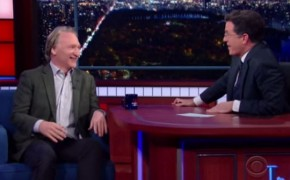 """Come on Back, Bill"" Colbert Attempts to Bring Maher Back to Catholicism"