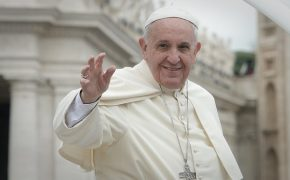 Pope Francis Opens Holy Door At Homeless Shelter in Rome