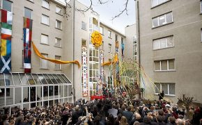Interfaith Service in Memory of the Paris Attack Victims Held at the Church of Scientology in Brussels