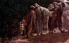 Church Painting of Judas Survived by Being Turned Around