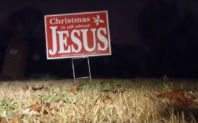 "Over 10,000 ""Christmas is All About Jesus"" Signs To Go Up In Tennessee"
