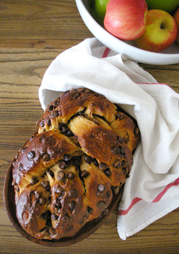 Cinnamon Chocolate Chip Challah