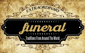 8 Extraordinary Funeral Traditions From Around the World [Infographic]