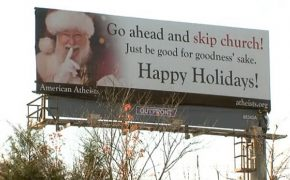 Atheist Billboards Say To Skip Church On Christmas