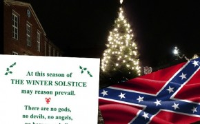 The War on Christmas Displays: Atheists, Confederates and City Councils