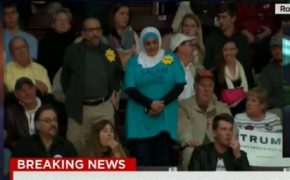 Muslim Woman Protesting Trump's Hate Speech Kicked Out of Rally