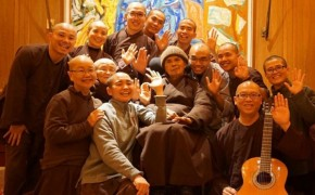 Beloved Buddhist Leader Thich Nhat Hanh Returns to Plum Village