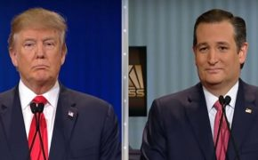 Trump and Cruz Bash It Out on GOP Debate, Appeal to Faith Voters