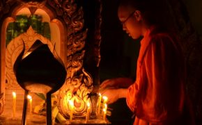 Buddhists Celebrate Magha Puja Day