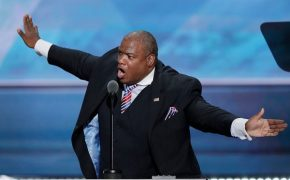 "Televangelist Mark Burns Tells Crowd Bernie Sanders ""Doesn't Believe in God"" at Trump Rally"