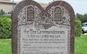 Oklahoma Opens Vote to Bring Ten Commandments Monument Back