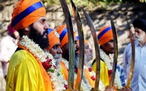 Sikhs Observe Holla Mohalla Festival
