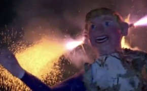 Across Mexico, Effigies of Donald Trump Burned on Easter
