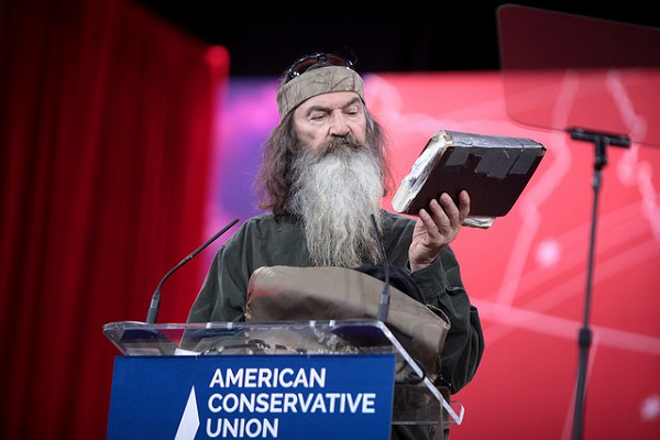 "Phil Robertson Says We Need a ""Jesus Man in the White House"""
