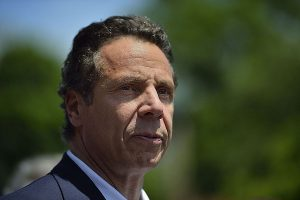 New York Governor Cuomo who imposed restrictions on religious gatherings. Photo by Diana Robinson via Wikimedia Commons