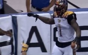 L.A. KISS WR Donovan Morgan thanks God for his 250th Career Touchdown