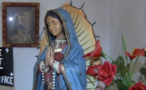 Statue of Virgin Mary Appears to be Crying in Fresno Home