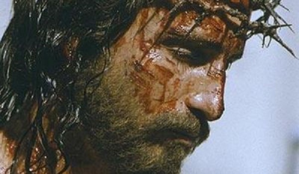 Jim Caviezel as Jesus of Nazareth in the 2004 film The Passion of the Christ