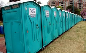 Atheist Protesters Get Apology After Being Denied Portable Toilet Rental