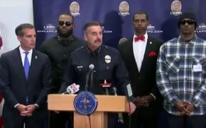Rappers Gang Summit: Rally for Racial Unity at the Church of Scientology Community Center