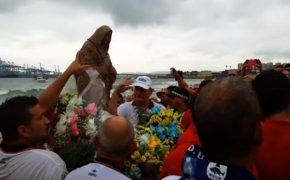 Sunken Virgin Mary Rises from the Sea for Feast of Assumption