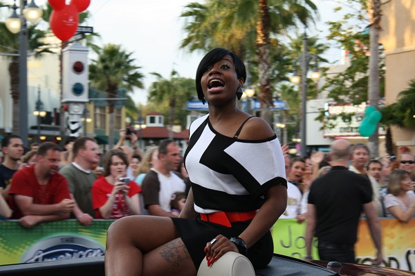 'American Idol' Winner Fantasia Stronger with God After Years of Suffering