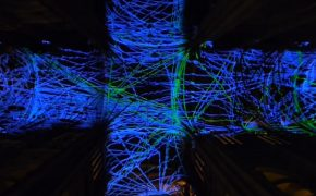 Heavenly Lights: Virtual Reality Art in a Gothic Cathedral in Paris