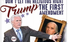 "FFRF Urges ""Don't Let the Religious Right Trump the First Amendment"""