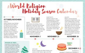 Winter Religious Holidays Video and Infographic