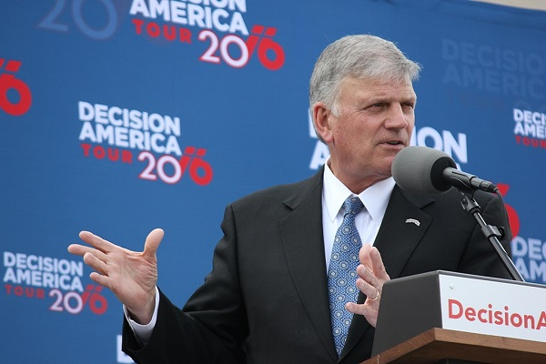Franklin Graham Says God Helped Trump Win Election