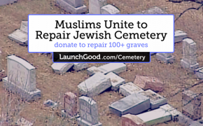 J.K. Rowling's Tweet Bumps Muslim Fundraiser for Vandalized Jewish Cemetery Over $100,000