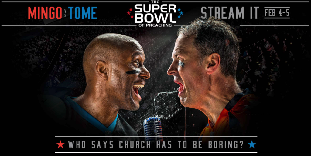 Crossroads Mega Church Super Bowl of Preaching