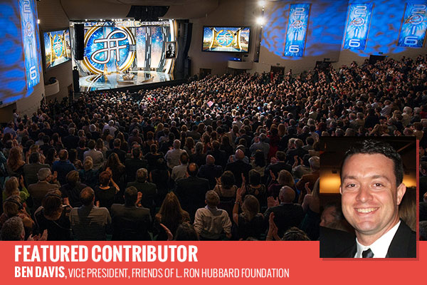 The L. Ron Hubbard Birthday Celebration 2016 capped a weekend of festivities illuminating every aspect of Mr. Hubbard's eternal legacy.