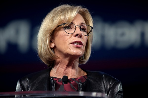 Betsy DeVos' Dream of The Private Evangelical School  World Religion News