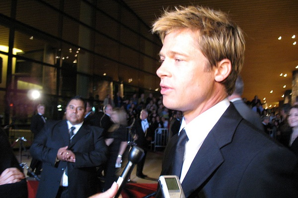 By Maggie from Palm Springs, United States (Brad Pitt) [CC BY 2.0], via Wikimedia Commons