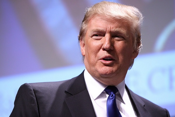 Donald Trump is licensed under CC BY 2.0