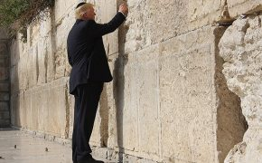 Making History, Trump Visits the Western Wall With His Family