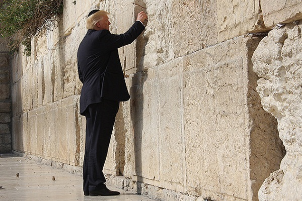 White House website captions Trump livestream as coming from 'Jerusalem, Israel'