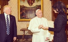US President Donald Trump Meets Pope Francis
