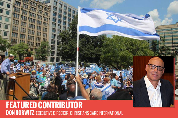 """Supporting Israel in the USA"" by Israel Ministry of Foreign Affairs is licensed under CC BY 2.0"