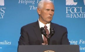 Pence Appears at Focus on Family Event