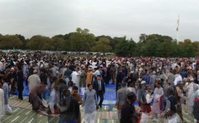 Park in England Hosts Largest-Ever Eid Celebration