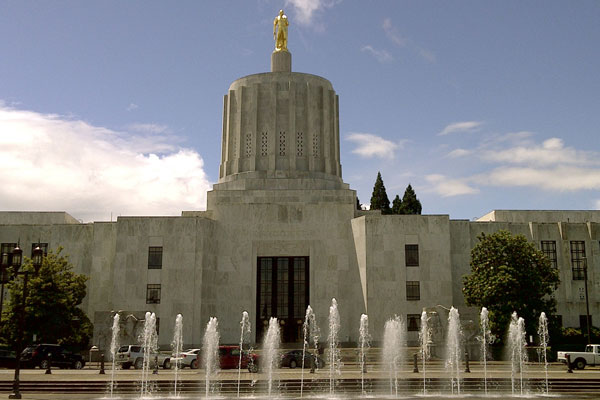 """Oregon Capitol"" by Oregon Department of Transportation is licensed under  CC BY 2.0"